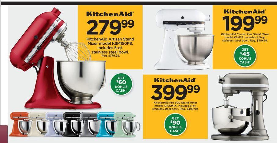 Kitchenaid Mixer Black Friday 2020