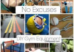 DIY Home Workout Equipment