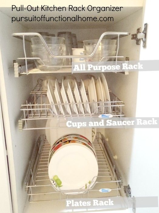 Kitchen Cabinet Organizer Shelf