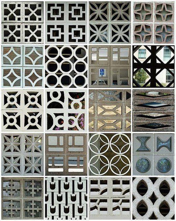 Decorative Concrete Blocks For Garden Walls