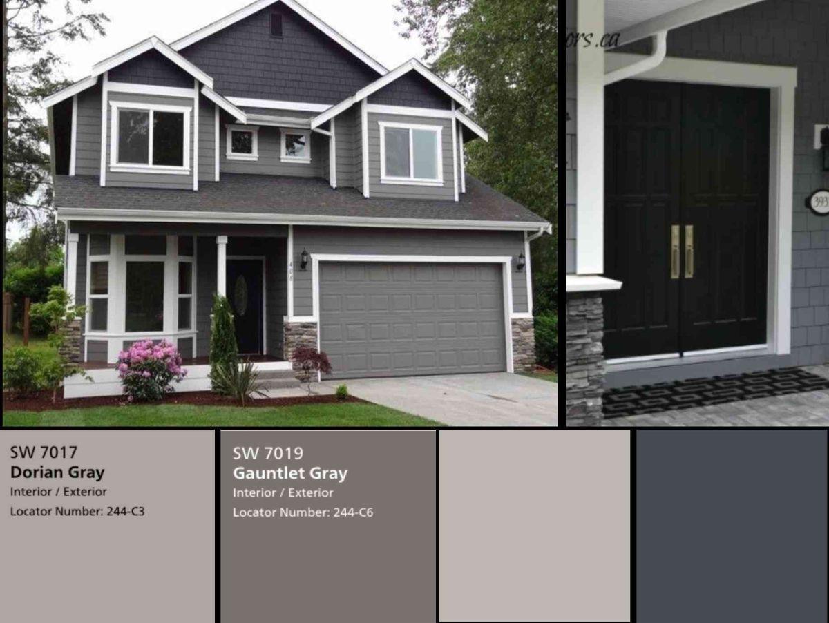 Gray Exterior Paint