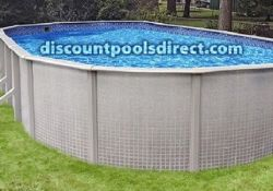 Sandstone 18 Round Above Ground Swimming Pool