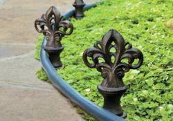Decorative Garden Hose Guides