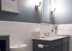 Bathroom Half Wall Tile
