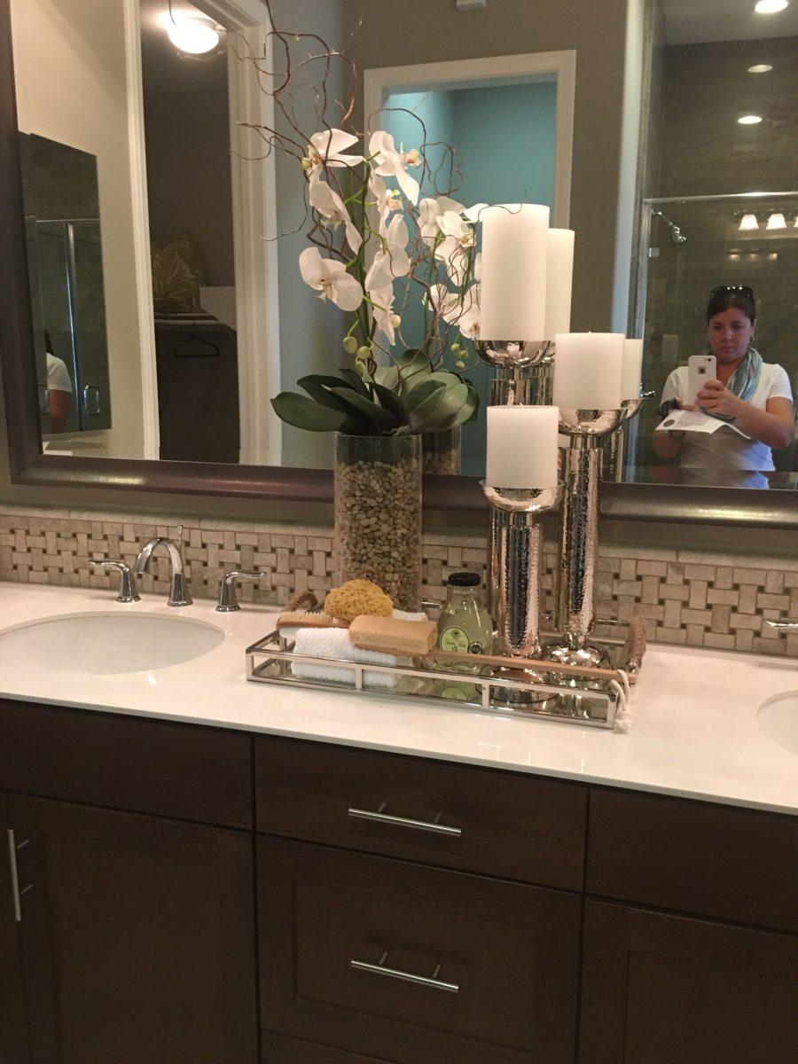 Bathroom Counter Decor Ideas