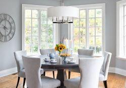 Gray Dining Room