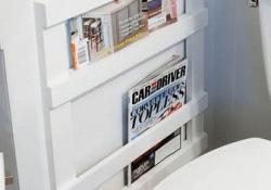 Magazine Rack For Bathroom