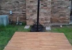 DIY Backyard Basketball Court