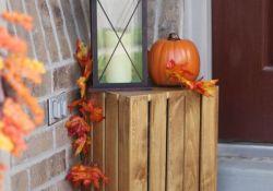 Small Porch Fall Decor