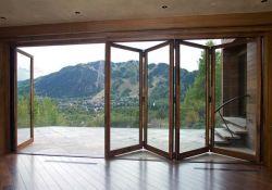Bifold Glass Doors Exterior