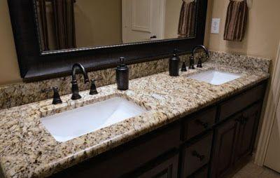 Granite Bathroom Vanity