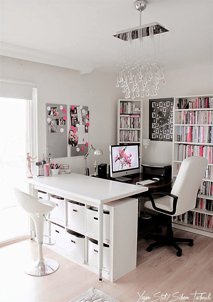 Women's Home Office Ideas