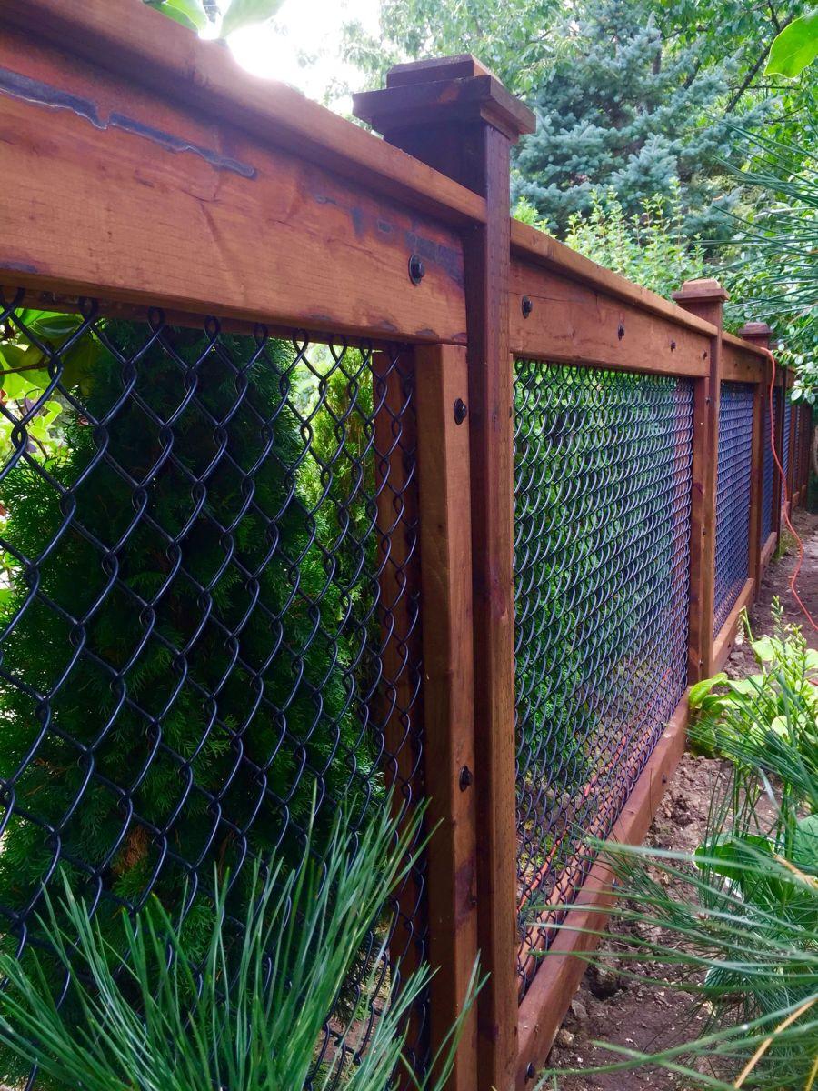 Decorative Wire Garden Fence