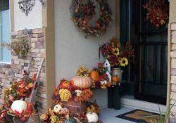 Front Porch Outdoor Fall Decor