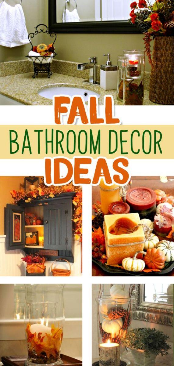 Fall Bathroom Decor Ideas