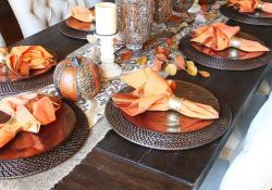 Fall Dining Table Decor Ideas