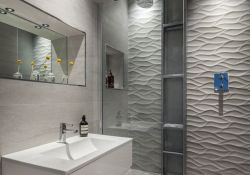 Modern Tile Bathroom