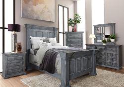 Grey King Bedroom Set