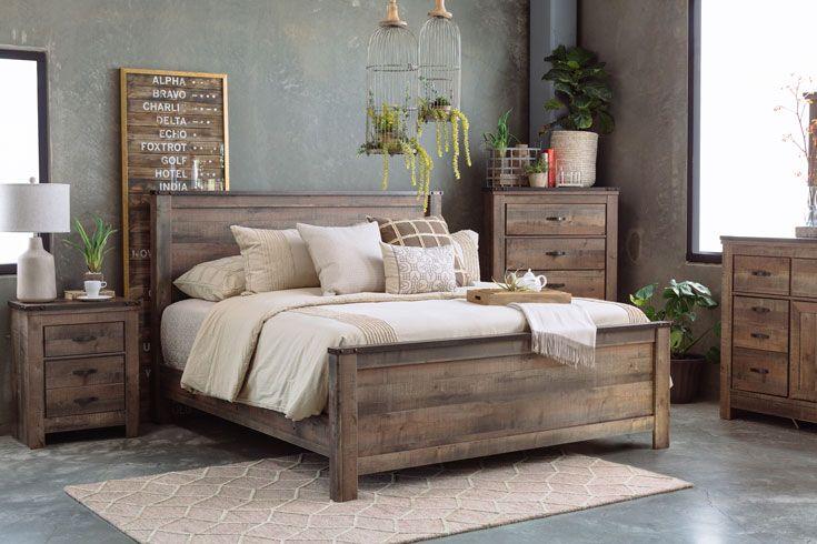 Rustic Farmhouse Bedroom Set