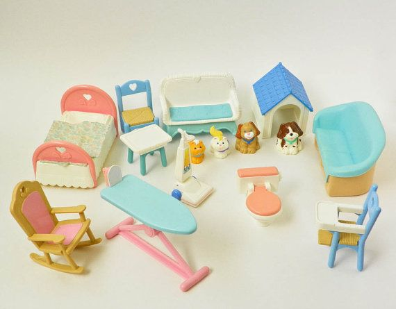 Fisher Price Dollhouse Furniture