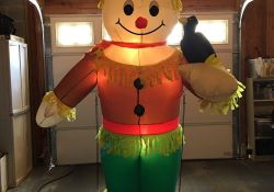 Fall Inflatable Yard Decorations
