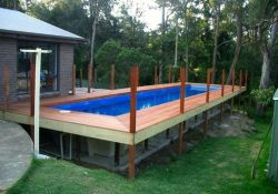 Above Ground Rectangular Swimming Pools
