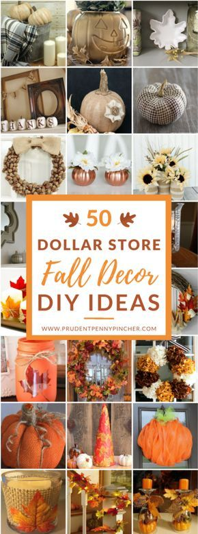 Dollar Tree Fall Decorating Ideas