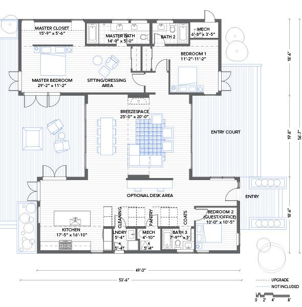 4 Bedroom Shipping Container Home Plans