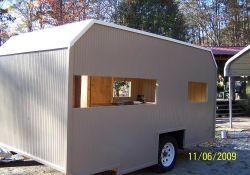 DIY Homemade Camper Trailer