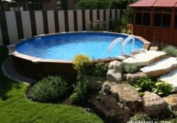 Permanent Above Ground Swimming Pools