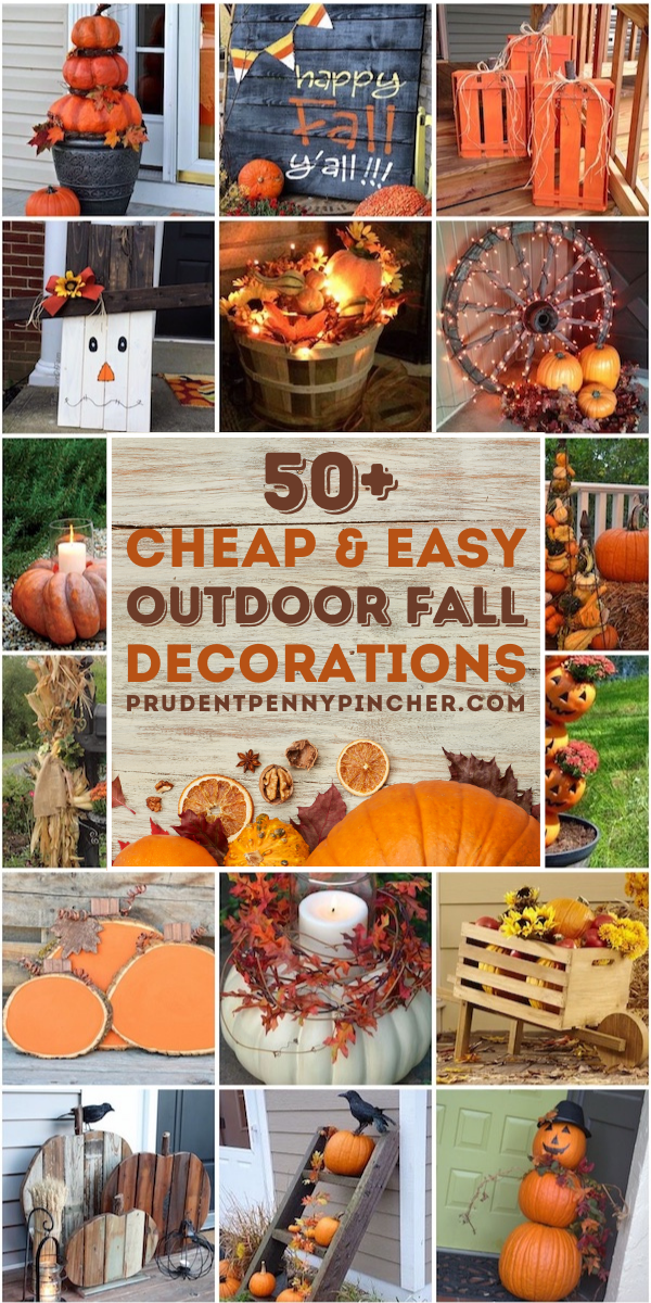 Cheap Fall Decorations For Outside