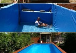 Easy DIY Swimming Pool