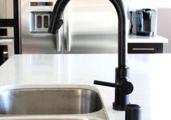 Black Kitchen Sink Faucet