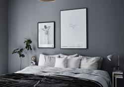 Dark Gray Bedroom