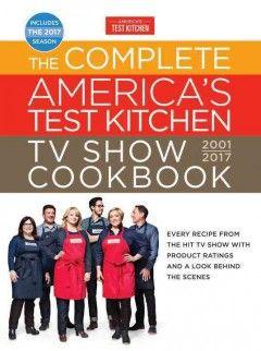 America Test Kitchen Cookbook