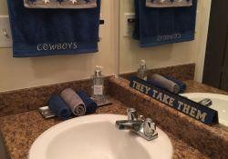 Dallas Cowboys Bathroom Set
