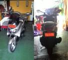 Spion sein LED Ducati Monster di Yamaha NMax. Credit: Bpk. Putu di Bali