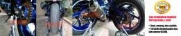 Jalu standhook paddock CBR150R&250R_SILVER. Dalam 1 set-nya terdiri atas 2 pcs jalu dan 2 pcs breketnya. Rp190.000,- per set.