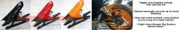Hugger Arm Spakbor Kolong CBR 150R K45 PNP, tidak mentok paddock yg dudukannya ke swing arm. Bahan terbuat dari fiber berkualitas. PRICE: Rp270.000,- Ongkir kena hitungan volumetrik 6 kg.
