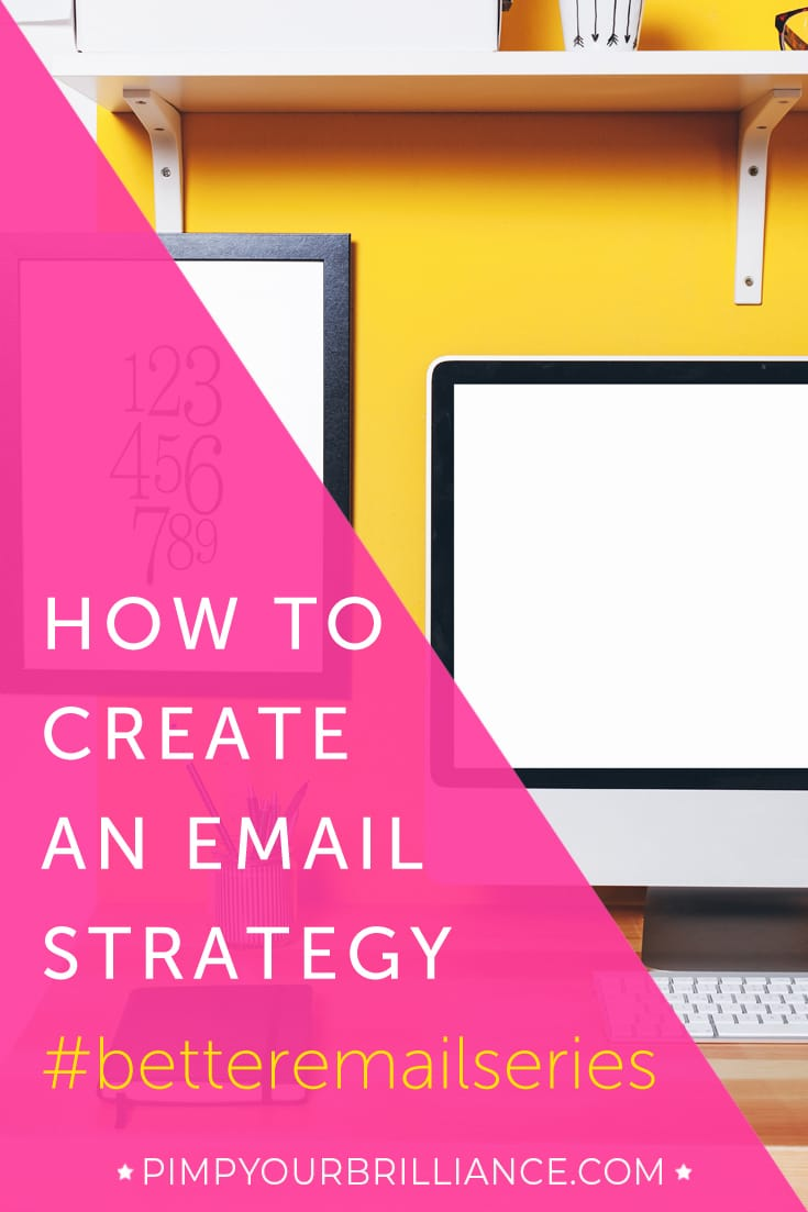 how to create an email strategy