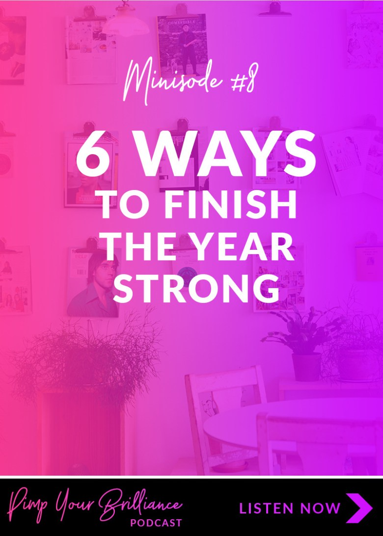 Don't let the holiday slump catch you. If you own a creative business, start planning for the holidays and end of the year now. In this episode, I'm sharing 6 ways that you can finish the year strong.