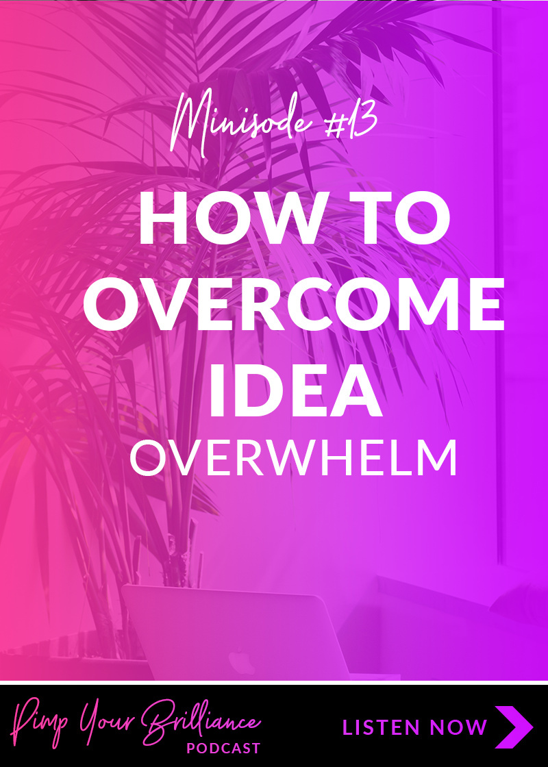 When you have so many creative ideas, how do you decide on which one to lead with? In this episode, I share my 5 point criteria for evaluating new ideas.