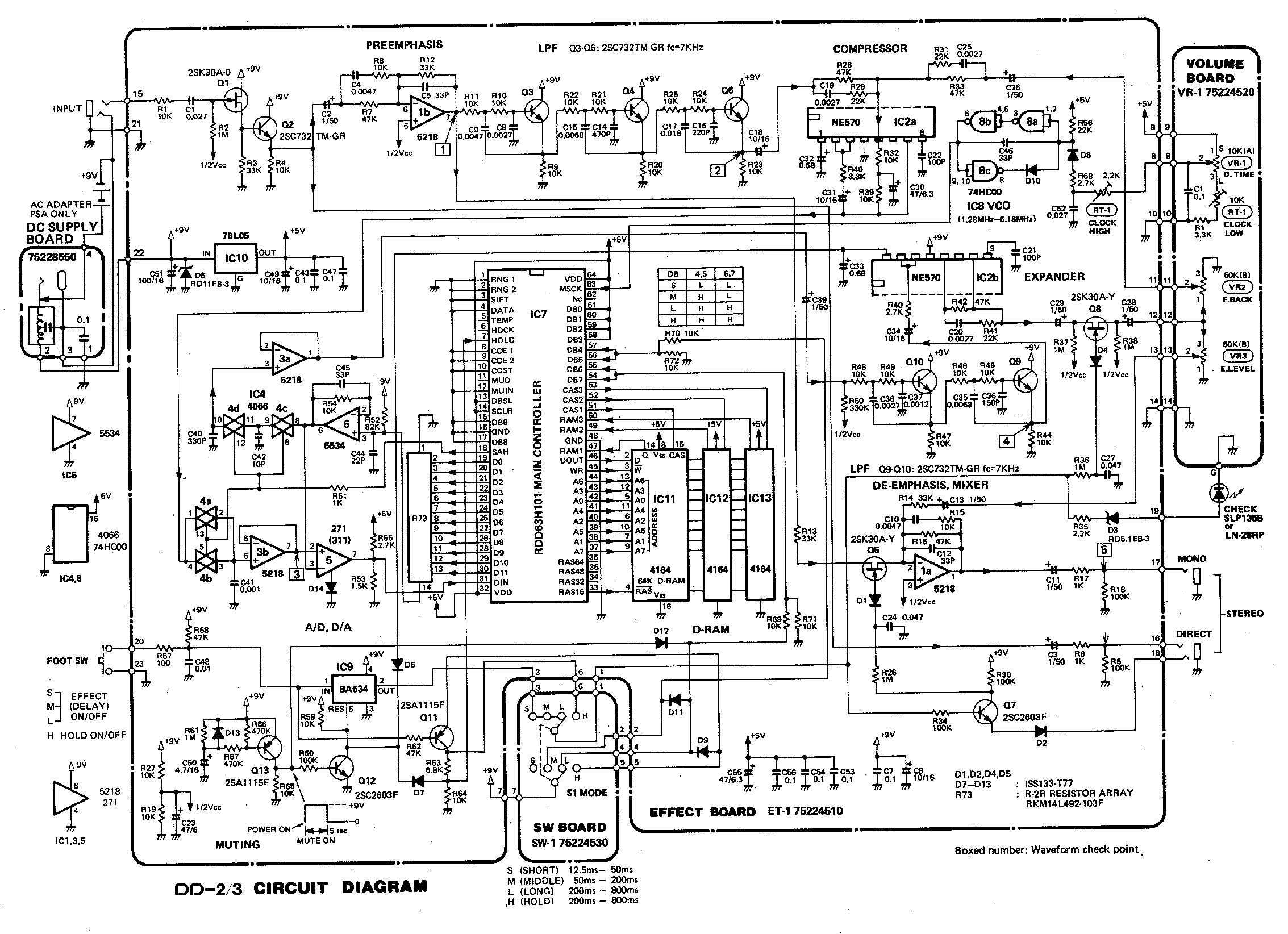 Boss Dd3og Amp Fx Loop Mod Pimp Your Pedal