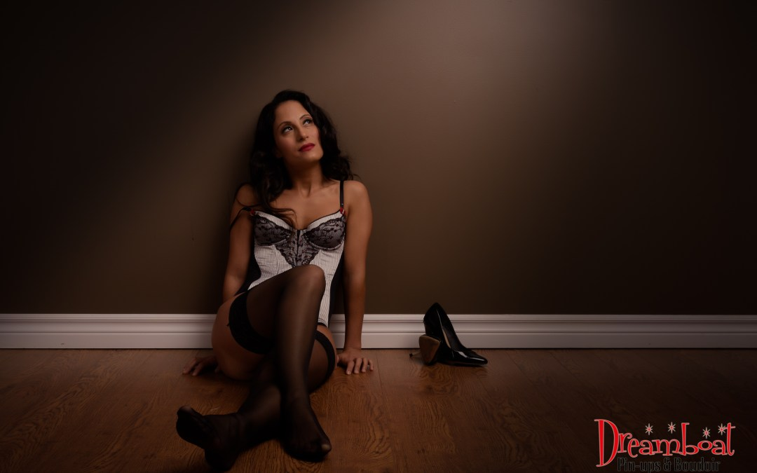 Ms L's Boudoir session