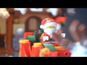 Papa Noël légo sauve noël avec le Yéti
