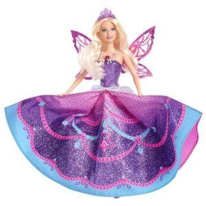 Barbie mariposa princesse aux ailes de cristal – idées cadeaux sous le sapin