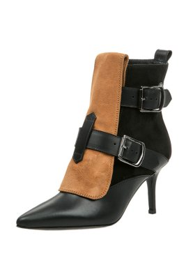 Vivienne Westwood Bottines à talons hauts noir luxe