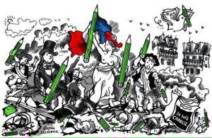 V. de Graffenried sur Twitter : «La liberté au-dessus de tout. Dessin de Plantu dans le Monde #CharlieHebdo #JeSuisCharlie http://t.co/rr8SJuLqPl»
