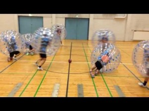 Zorb Football – YouTube