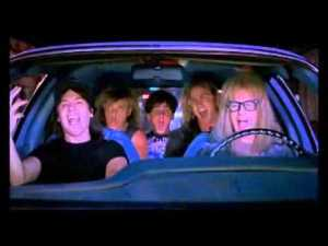 Movie Scene Wayne's World Bohemian Rhapsody – YouTube